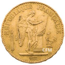 20 Francs Or Génie 1877 A - IIIe République