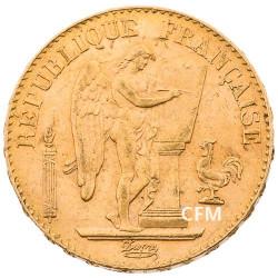 20 Francs Or Génie 1897 A - IIIe République
