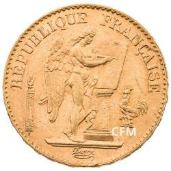 20 Francs Or Génie 1893 A - IIIe République