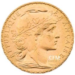 20 Francs Or - Marianne 1907