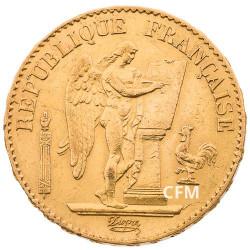 20 Francs Or Génie 1878 A - IIIe République