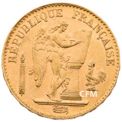 20 Francs Or Génie 1889A - IIIe République