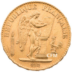 20 Francs Or Génie 1892 A  - IIIe République