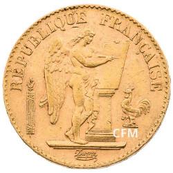 20 Francs Or Génie 1894 A  - IIIe République