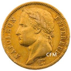 40 F Or Napoléon Empereur - 1811 A