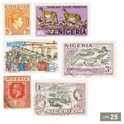 25 timbres Nigeria