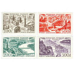 Série complète 1949 - Vues stylisées des grandes villes