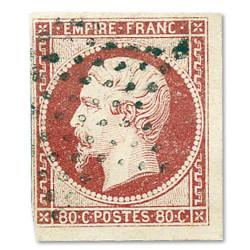 80c. Napoléon III 1854