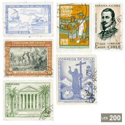 200 timbres Chili