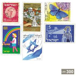 300 timbres Israël