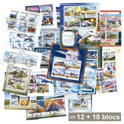 12 Blocs Concorde + 10 Blocs OFFERTS