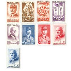 Les séries complète Pétain 1943