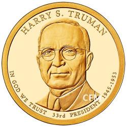 1 Dollar USA BE 33e Président - Harry S. Truman