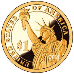 Lot des 3 x 1 Dollar USA BE 2015