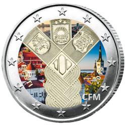 2 Euro Estonie 2018 - 100 ans des Pays baltes