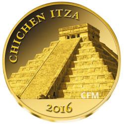100 Francs Or Mali Chichen Itza - Mexique