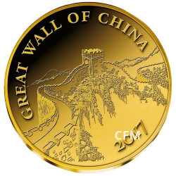 100 Francs Or Mali La Grande Muraille - Chine