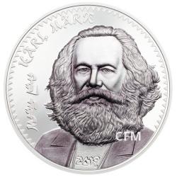 1 000 Togrog Argent BE 2019 - Karl Marx