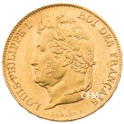 20 Francs Or Louis-Philippe Tête Laurée 1833 A