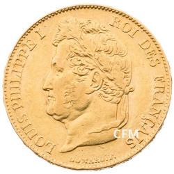 20 Francs Or Louis-Philippe Tête Laurée 1836 A