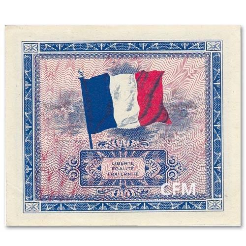 2 Euro Drapeau France 1944
