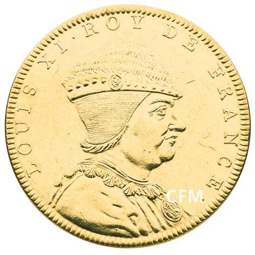 Louis XI Bronze