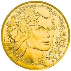 1 000 Euro Or France BU 2019 - Marianne Fraternité