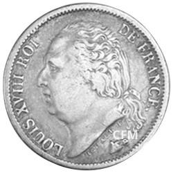 1/2 Franc Argent