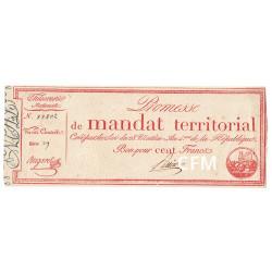 100 Francs Promesse de Mandat territorial