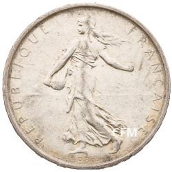 1968 - 5 Francs Argent type Semeuse