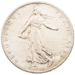 1915 - 2 Francs Argent - type Semeuse 3e République