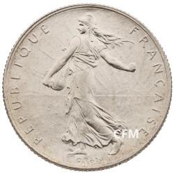 1917 - 2 Francs Argent - type Semeuse 3e République