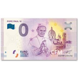 Billet souvenir 0 Euro Vatican 2019
