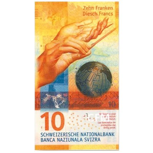 10 Francs Suisse 2016