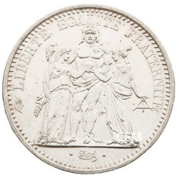 10 Francs Argent Hercule 1966