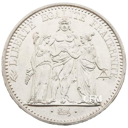 10 Francs Argent Hercule 1970