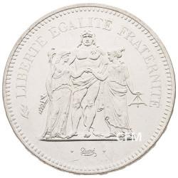 50 Francs Argent Hercule 1975