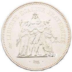 50 Francs Argent Hercule 1977