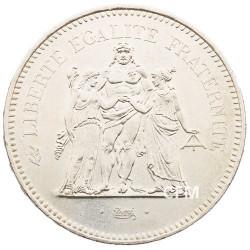 50 Francs Argent Hercule 1979