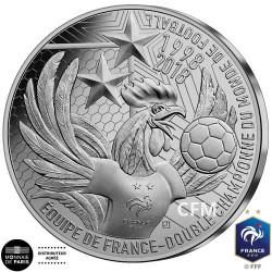 10 Euro Argent France BE 2019 - Champions du monde 1er anniversaire du Titre 2018
