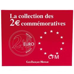 L'écrin pour 70 pièces de 2 Euro commémoratives