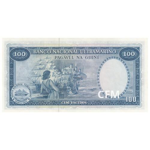 Billet 100 Escudos Guinée Portugaise 1971