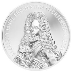 5 Francs Suisse Argent Liechtenstein BE 2019 - 300 ans du Liechtenstein