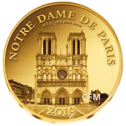 100 Francs CFA BE 2019 - Notre-Dame de Paris