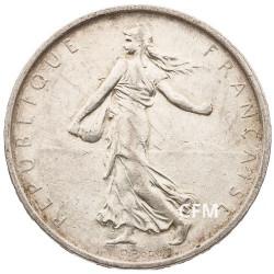 1967 - 5 Francs Argent type Semeuse