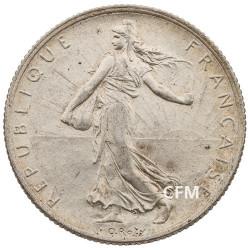 1918 - 2 Francs Argent - type Semeuse 3e République