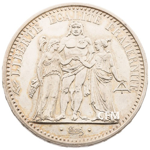 10 Francs Argent Hercule 1971