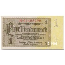 Billet 1 Rentenmark Allemagne 1937