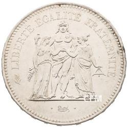 50 Francs Argent Hercule 1974