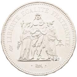 50 Francs Argent Hercule 1978